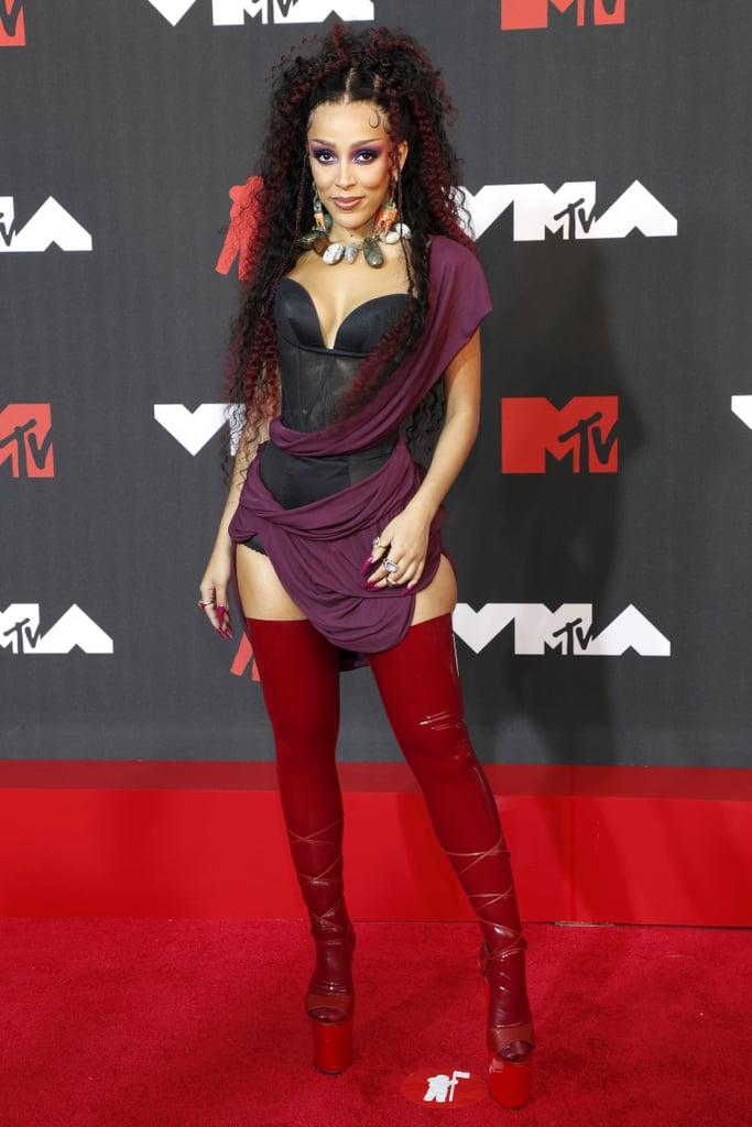 Doja Cat at the 2021 MTV VMAs