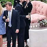 Zach Braff and Taylor Bagley kissed at CaCee Cobb and Donald Faison's wedding.