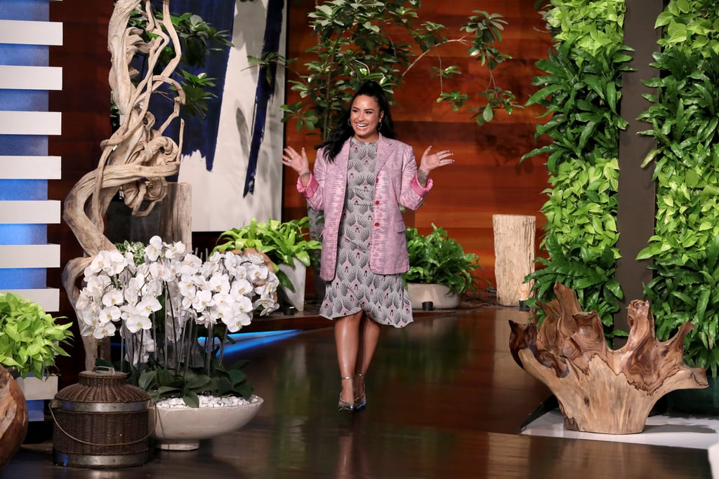 "Demi Lovato is getting open and honest about her relapse after six years of sobriety. On Thursday, the 27-year-old singer stopped by The Ellen DeGeneres Show to promote her single ""I Love Me,"" which drops on March 6. After speaking about the song's uplifting message, Demi reflected on her journey after a major setback in 2018.  She recalled being in a dark place mentally and not receiving the support she needed from her team at the time. ""I reached out to the people that were on my team, and they responded with like, 'You're being very selfish. This would ruin things for not just you but for us, as well,'"" she said. ""My core issues are abandonment from my birth father as a child. He was an addict, alcoholic, like, we had to leave him, and I have vivid memories of him leaving. So when they left, they totally played on that fear, and I felt completely abandoned."" She then decided to drink again, three months before overdosing in July 2018. After her recovery, she got back on track and has continued fighting through her battles. Her new chapter has involved working with a different management team, singing the national anthem at the Super Bowl, and prepping her seventh studio album. ""Ultimately, I made the decisions that got me to where I am today,"" she continued. ""I think it's important that I sit here on this stage and tell you at home or you in the audience or you right here that if you do go through this, you, yourself, can get through it. You can get to the other side. It may be bumpy, but you are a 10 out of 10. Don't forget it."" Watch Demi talk more about her experience in the video ahead, then check out all the photos from her appearance.      Related:                                                                                                           110 Sexy Demi Lovato Pics That Will Give You Major ""Praise Hands"" Emoji Vibes"