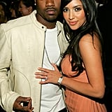 Kim Kardashian and her then-boyfriend Ray J stepped out together for Charlotte Ronson's LA fashion show in March 2006.