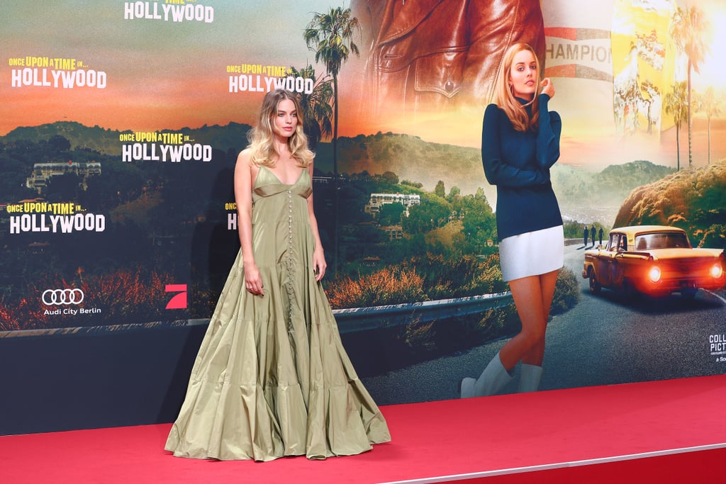Margot Robbie at the Berlin premiere of Once Upon a Time in Hollywood.