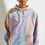 NASA Tie-Dye Hoodie Sweatshirt