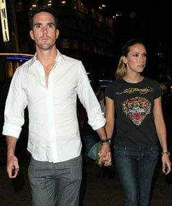 Photos of Cricketer Kevin Pietersen and Liberty X Jessica Taylor Pregnant With First Baby