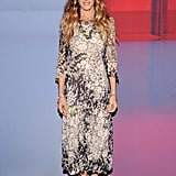 Sarah Jessica Parker attended the launch party for the Valentino Garavani Virtual Museum.