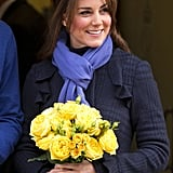 Kate proved that you can have great hair even when you're sick as she left King Edward VII's Hospital, where she was being treated for acute morning sickness.