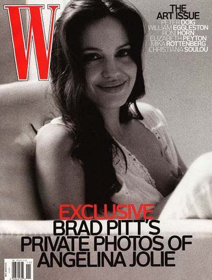 Angelina Jolie Breastfeeding on Cover of W Magazine