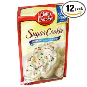 Betty Crocker Cookie Mix ($25 for 12 pack)