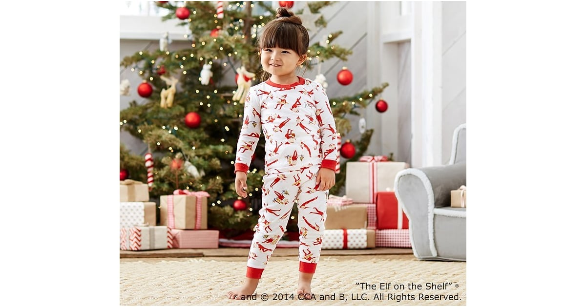 pottery barn kids the elf on the shelf pajamas kids. Black Bedroom Furniture Sets. Home Design Ideas