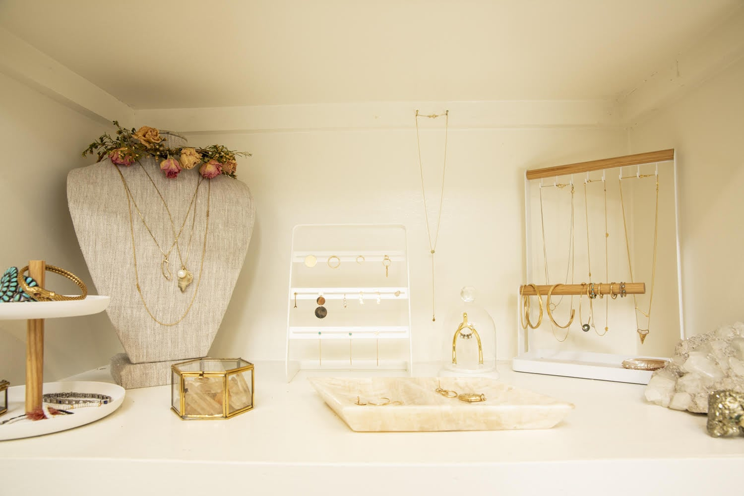 How To Organize Your Jewelry Necklaces Rings And More Popsugar Fashion