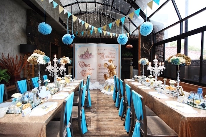 Royal Mickey Mouse Baby Shower Party Popsugar Moms