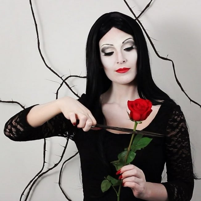 Addams Family Halloween Makeup Ideas