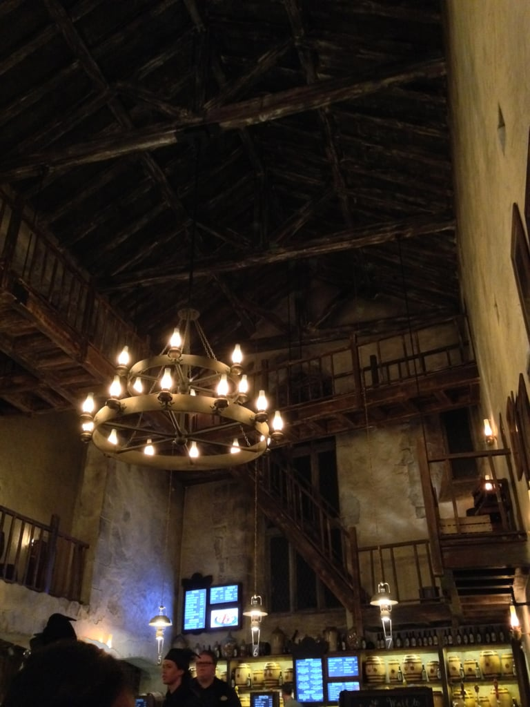 The Leaky Cauldron is another example of how true to the film this new park is.