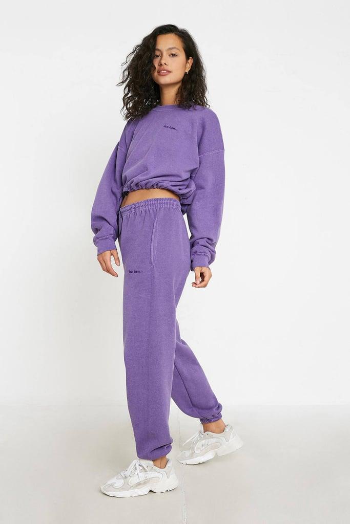 iets frans... Purple Jogger Pants