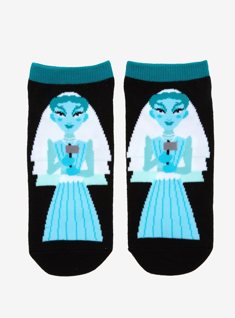 Disney The Haunted Mansion Constance No-Show Socks