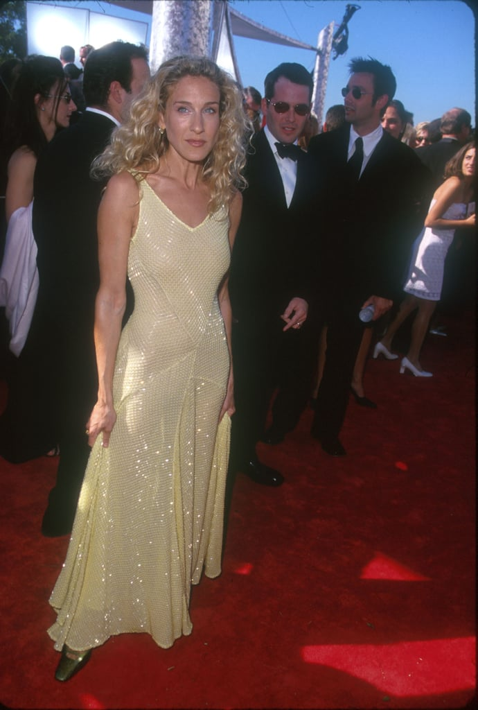 Sarah Jessica Parker's Blonde Curls