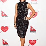 Natarsha Belling posed on the red carpet.