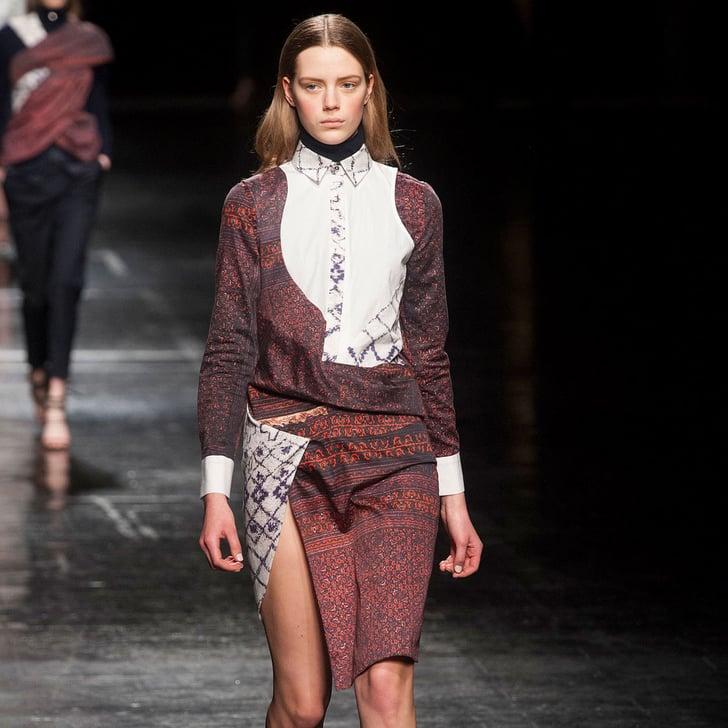 Slit Skirts For Fall