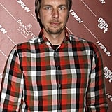 Dax Shepard wore a flannel shirt to the Hit and Run screening in NYC.