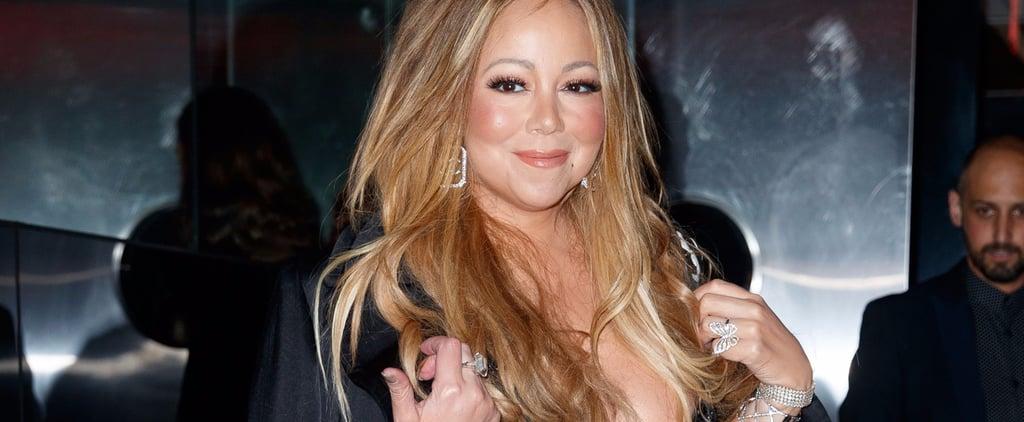 Mariah Carey Wearing James Packer Engagement Ring Oct. 2017
