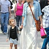 Honor Warren and Jessica Alba had a mother-daughter day date.