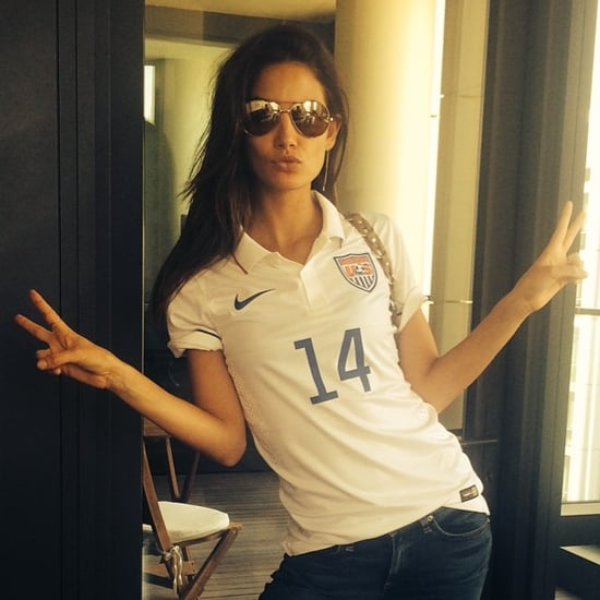 Celebrity World Cup Fans on Instagram | Pictures