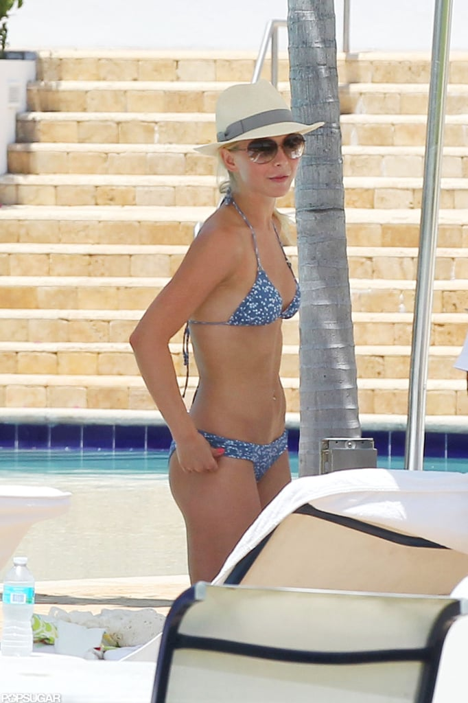 It was bikini time for Julianne in Miami in May 2011.