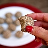Get the recipe: Chocolate almond coconut protein balls