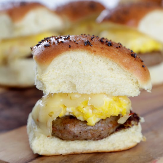 Egg and Sausage Breakfast Sandwich Recipe