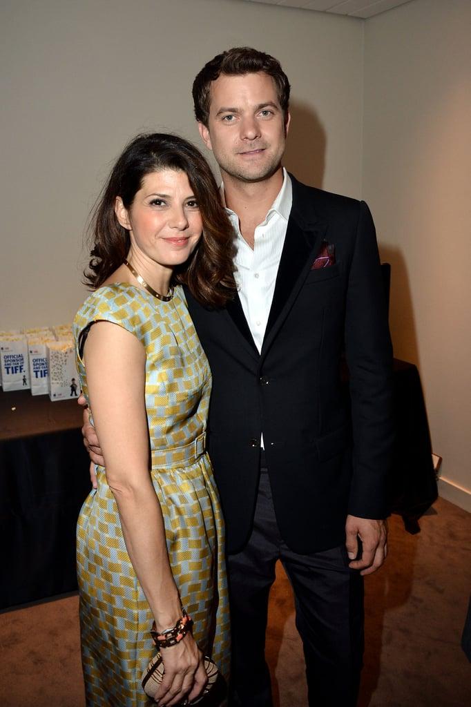 Marisa Tomei and Joshua Jackson linked up at the Toronto International Film Festival.
