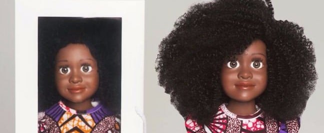 This Stylist Couldn't Find a Doll With Natural Hair For Her Daughters — So She Made One