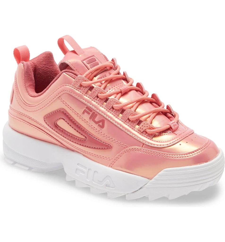 Fila Pink Iridescent Sneakers 2020