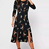 Dorothy Perkins – Floral Print Crew Neck Dress