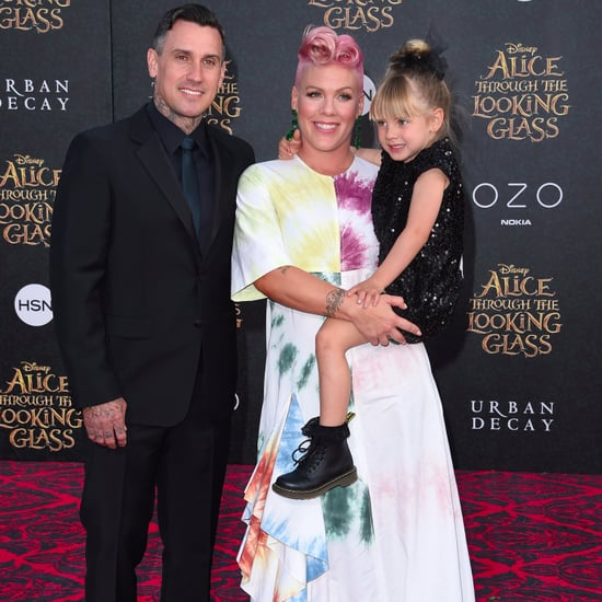 Carey Hart Congratulates Pink on MTV Video Vanguard Award