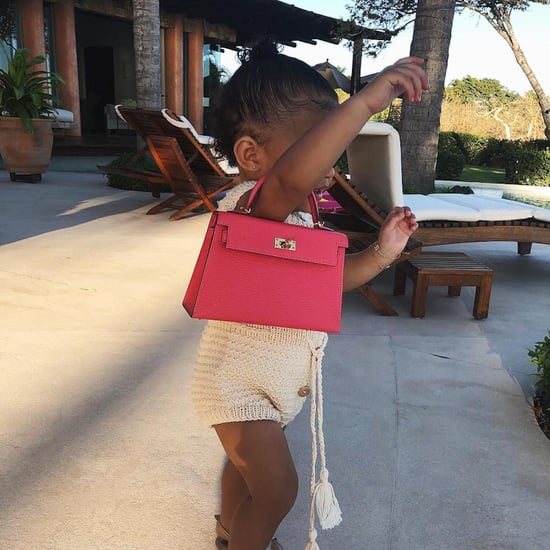 Stormi Webster Pink Hermès Kelly Bag Video