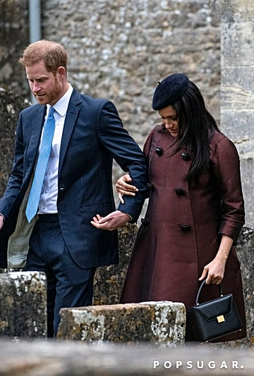 Meghan Markle Victoria Beckham Bag March 2019