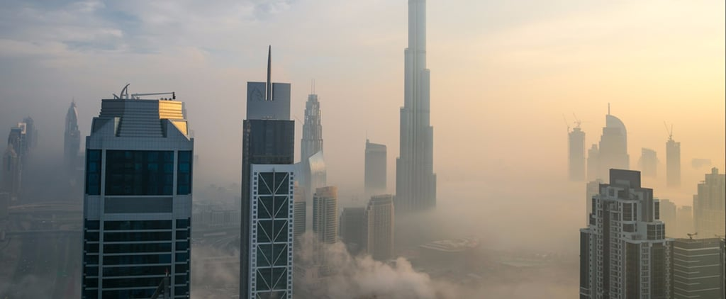 Drive Safe! A Fog Warning Has Been Issued in Dubai Today