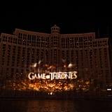 Game of Thrones Fountain Show Las Vegas 2019 Video