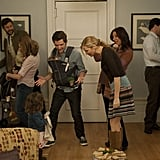 Adam Scott, Maya Rudolph, Jennifer Westfeldt, and Chris O'Dowd in Friends With Kids. Photo courtesy of Roadside Attractions