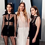 HAIM at the Vanity Fair Oscars Afterparty 2020