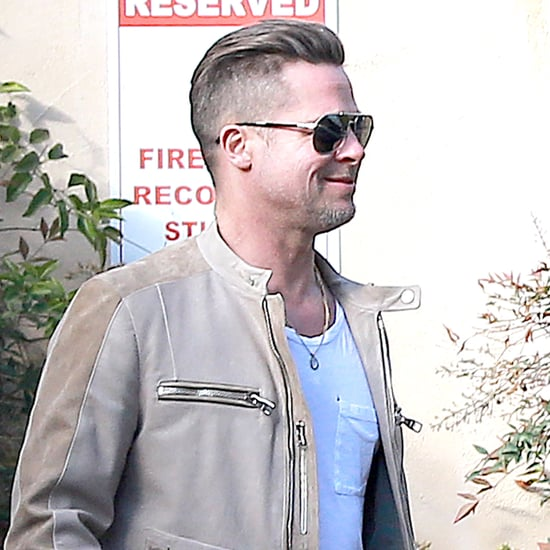 Brad Pitt Smiles in LA | Pictures