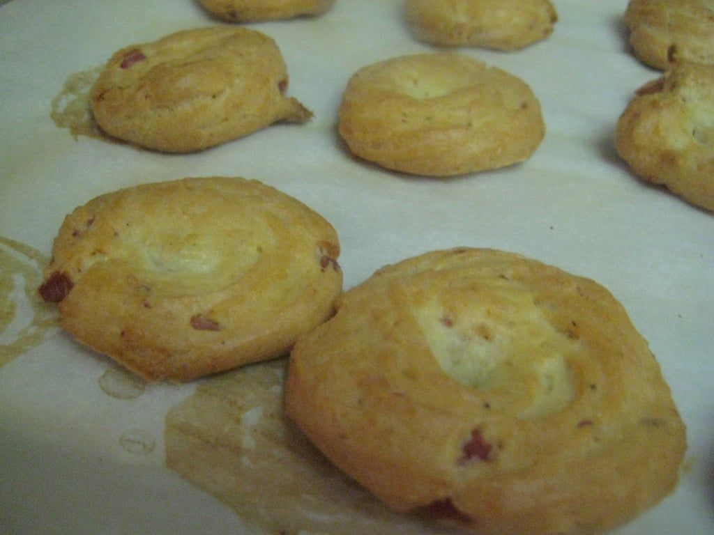 Ham and Cheese Thumbprints