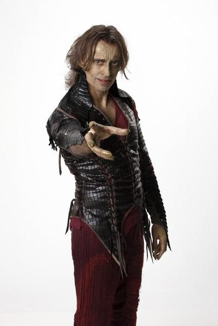 Robert Carlyle as Rumpelstiltskin / Mr. Gold on ABC's Once Upon a Time.