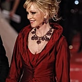 Melanie looked ravishing in red at the Goya Awards.