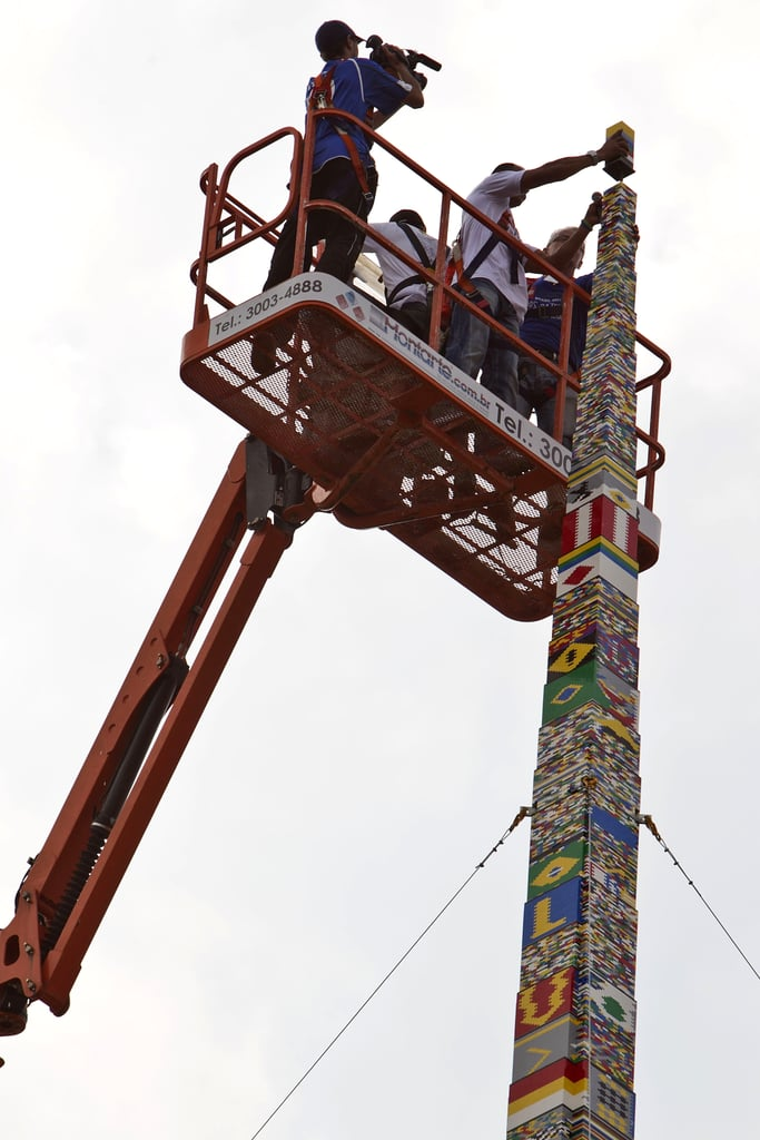 Lego Tower Sets Record in Brazil