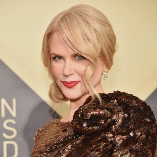 Nicole Kidman's Hair and Makeup at SAG Awards 2018