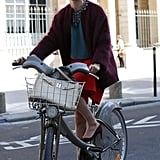 A cool bike really is the best accessory on the streets of Paris.