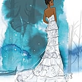 Disney's Tiana Wedding Dress Design