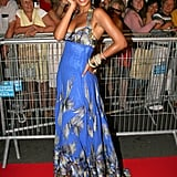 Beyoncé Knowles wore a dress from her mother Tina's label House of Deréon to the 2006 premiere of Dreamgirls.