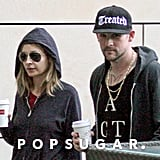 Nicole Richie and Joel Madden were dressed down for an afternoon out in Sydney.