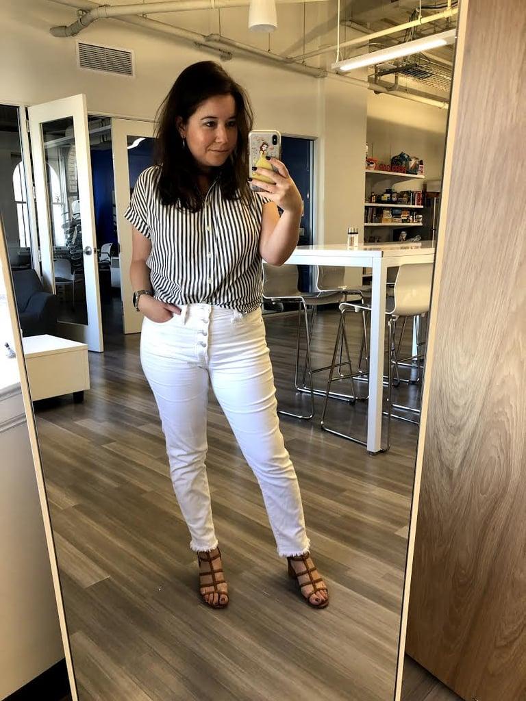 Tara's Pick: Madewell High-Rise Skinny Crop Jeans